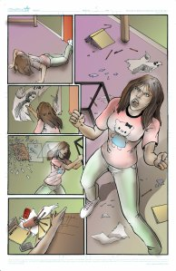 Page 3 from issue #1 of The Alliance:Bloodlines comic.